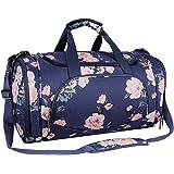 MOSISO Sport Gym Tasche Reisetasche mit Vielen Fächern, Wasserdicht Sporttasche Pfingstrose Seesack für Tanzen, Fitness, Spor