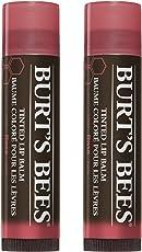 Burt's Bees Tinted Lip Balm - Rose 0.15 Ounce 2 Pcs