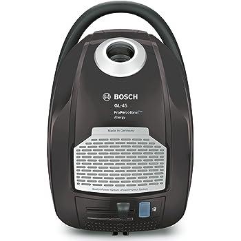 Bosch BGL45500 ProPer>>formPlus - Aspirador con bolsa AAAA, 700 W, filtro HEPA H13 lavable (recomendado para alérgicos), sistema PowerProtect, ...