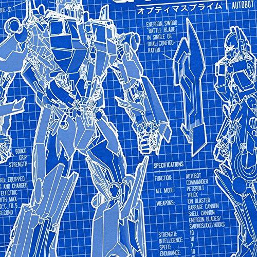 A.N.T. Optimus Prime T-Shirt Femme dessin bleu autobot Bleu