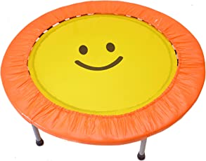 40 Inch SkyJumper Smiley Face Trampoline