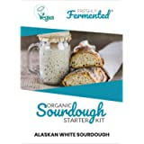 Freshly Fermented – Organic & Vegan Certified Freeze Dried Sourdough Culture, Alaskan White Style