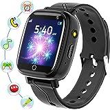 Smartwatch Bambini - Smartwatch Telefono con SOS Gioco Musica Camera Sveglia Registratore Contatti Modificabili, Regalo di Co