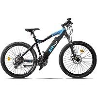 CRZ VTT électrique 27.5'- S-RACE (semi-intégré) 13Ah Noir/Bleu