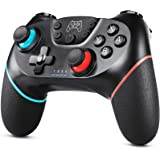 Zexrow Controller per Nintendo Switch, Wireless Bluetooth Switch Pro Controller, Switch Joystick per Gamepad con Adjustable T