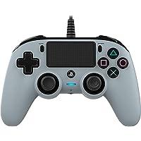 Nacon - Compact Controller, Grigio Classics (PS4)