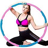 WELLXUNK Hoelahoep, hoelahoepel die kan worden gebruikt voor gewichtsvermindering en massage, hoelahoep voor fitness/sport/th
