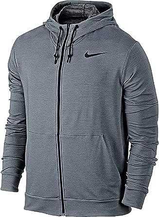 NIKE Men's Dri-Fit Training Full Zip Fleece Hoodie