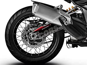 Schwinge Dekoration Schutz Aufkleber Kit Ducati Multistrada 1200 1260 Enduro 14 20 Auto