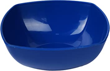 Homray Opulence Microwave Safe & Unbreakable Dark Blue Square Bowls of 350 ml (Set of 06 Bowls) …