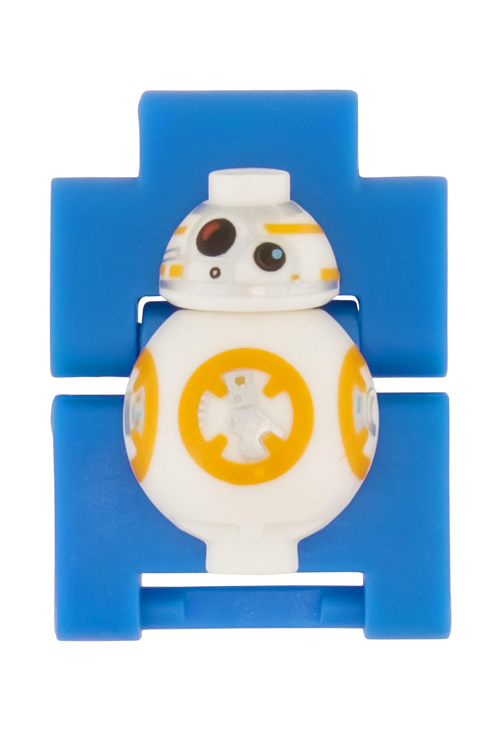 46184fbd3e46 Inicio   Estilos   Chico   Reloj modificable infantil con figurita de BB-8  de LEGO Star Wars 8020929