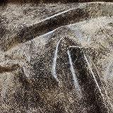 Stoff Polyester Kunstleder Antik braun waschbar weich