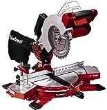 Einhell Cordless Mitre Saw TE-MS 18/210 Li-Solo Power X-Change (3000 rpm, Tiltable Saw Head, Workpiece Supports, Carbide…