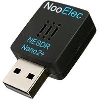 NESDR Nano 2 Plus - Winziges schwarzes RTL-SDR-USB-Set (RTL2832U & R820T2) mit extrem leisem Phasenrauschen 0,5 ppm TCXO…