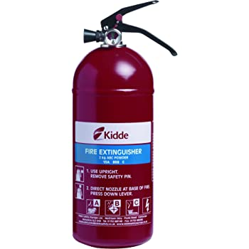 Kidde KSPD2G Fire Extinguisher Multi Purpose 2.0kg ABC