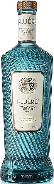 FLUÈRE - Alkoholfreier Gin Alternative, Floral Alkoholfreier Destillierter Spiritus, 700 ml