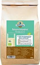 Erdschwalbe Bio Reisprotein - 82% Proteingehalt - Veganes Eiweißpulver - 1 Kg