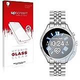 upscreen Protecteur d´Écran en Verre Trempé de Plastique Compatible avec Michael Kors Access Lexington 2 – Hybrid Glass 9H Du