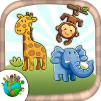 Zoo und Dschungel Tiere zu malen