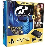 PlayStation 3 - Console 500 GB con Gran Turismo 6 e The Last Of Us [Bundle]