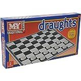 KandyToys M.Y Draughts Game - Traditionellt spelspel för barn och vuxna