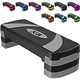 Xn8 Aerobic Stepper 3-Niveau Step- in hoogte Verstelbare Stepboard 10cm,15cm,20c Non-slip Voor Fitness Training-Thuis Gym