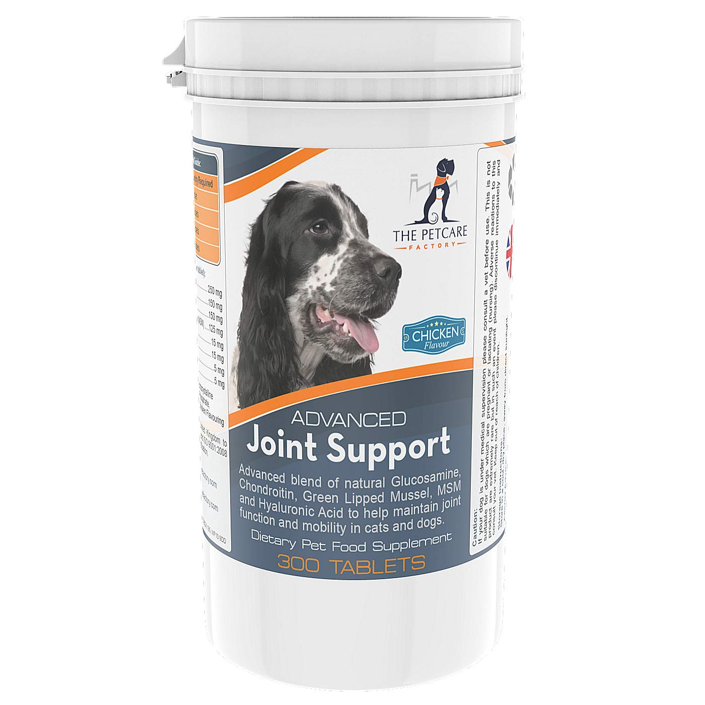Advanced Joint Support Supplement For Dogs, With Powerful Active Ingredients To Help Naturally Support and Maintain…