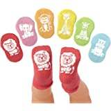 Xiangmall 4 Piezas Regalo Calcetines Beb/é Algod/ón Antideslizantes Calcetines Reci/én Nacido con Frases Divertidos Baby Shower Regalo Nacimiento