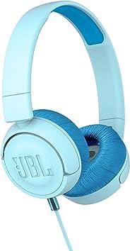JBL Kids Wired On-Ear Headphone Jr300 - Blue, JBLjr300Blu
