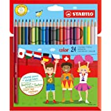 Stabilo Matita colorata - Astuccio da 24 - Colori assortiti