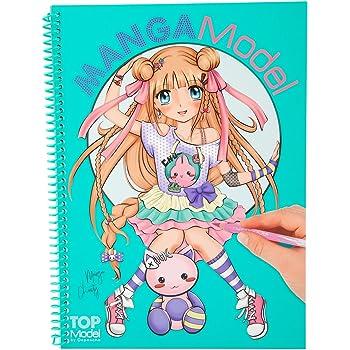 Album coloriage topmodel mangamodel jeux et jouets - Top model a imprimer ...