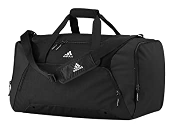 Adidas AD180BLAC 2015 Duffel Gym Bag Travel Holdall Black Medium