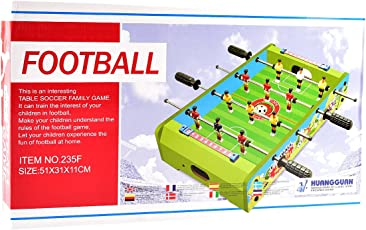 Tokenz Mid-Sized Foosball Mini Football Table Soccer Game for Kids Size 20x12.20x4.33 in