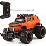 Toyshine RC Monster Truck Remote Control 1:20 Scale Electric Vehicle Off-Road Race Car with Oversize Tires Radio SUV RTR…