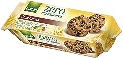 Gullón Galleta Chocolate Chips ZERO sin azúcares, 125 Gramos