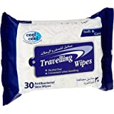 Cool & Cool Travelling Wipes 30's - Pack of 6 Pcs
