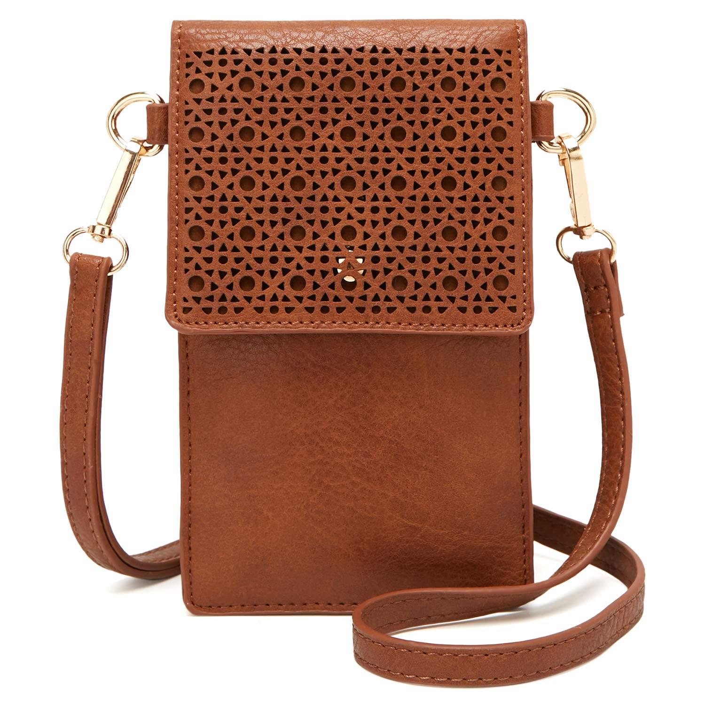 DCCN Bolso bandolera móvil, bolso pequeño bandolera para damas mujeres