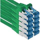1aTTack.de 5m - Cat.6 - Cavo di Rete LAN Ethernet Gigabit RJ45 Cat 6 Cavo Patch A 10000 Mbit s Sftp Pimf 500 MHz Compatibile