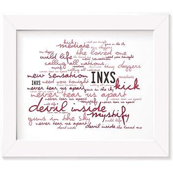 Lyrics Gift Signed Art Kirsty MacColl Poster Print Kite