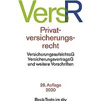 Privatversicherungsrecht (Beck-Texte im dtv)