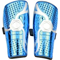 Goldmiky Youth Kids Soccer Shin Pad,Child Soccer Shin Pad,1 Pair Lightweight and Breathable Child Calf Protective Gear…