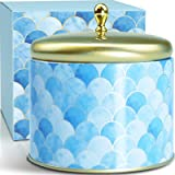 LA BELLEFÉE Scented Candle, 520g Relaxing Aromatherapy Candle Gift Set, Luxury 2 Wicks Big Scented Natural Soy Wax, Highly Sc
