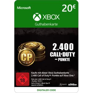 2.000 (+400 Bonus) Call of Duty-Punkte [Spielerweiterung] [Xbox Live Online Code] [PC Code – Kein DRM]