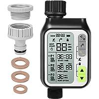Fixkit Computer per Irrigazione, Timer per Irrigazione, Programmatore di Irrigazione con Sensore Pioggia, Timer…