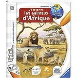Ravensburger - Livre interactif tiptoi - Je découvre les animaux d'Afrique - Jeux électroniques éducatifs sans écran en franç