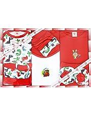 Mini Berry 13 Piece Unisex Baby's Gift Set (Red)