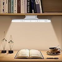 Baseus Lampe de Bureau 42LED Lumière Magnetique, Tactile Dimmable 3 Modes Luminosité et Couleur réglables, Sans fil…