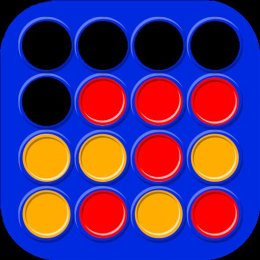 Vier Gewinnt - Klassische Brettspiel und Strategiespiel -  2 Spieler Spiele -