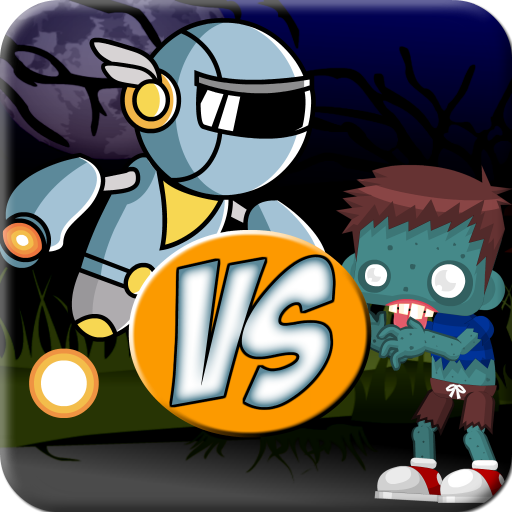 Smart Robots VS Stupid Zombies Plants Vs Zombies Games Free