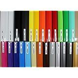Finest Folia (2,48€/meter), sticker, strepen, decoratie, sierlijsten, sierstrip, folie, 30 kleuren, kleurkeuze KX005 (025 zwa